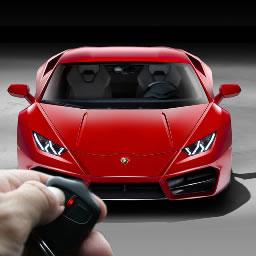 Alarm blokady samochodu