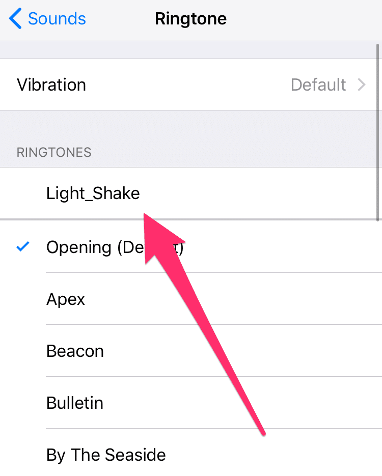 How to use custom iPhone ringtones